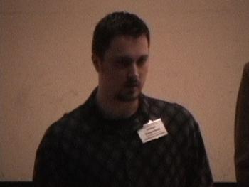 conference host, Joe Dangerfield