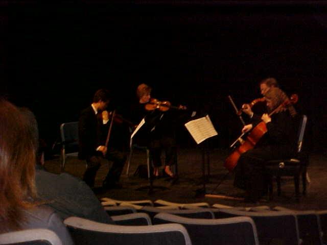 UCO String Quartet performing Seance, Composer - Daniel Perttu