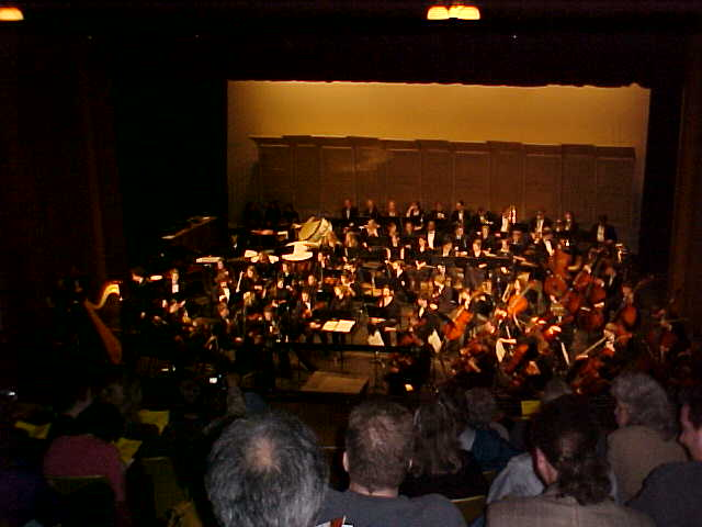 Oklahoma Youth Orchestra led by Director Dr. John Clinton Performed Symphony of Alcoves by Zae Munn, Three Americans by Dr. Samuel Magrill, Serenity by John Lane, and Sarsen by Hilary Tann