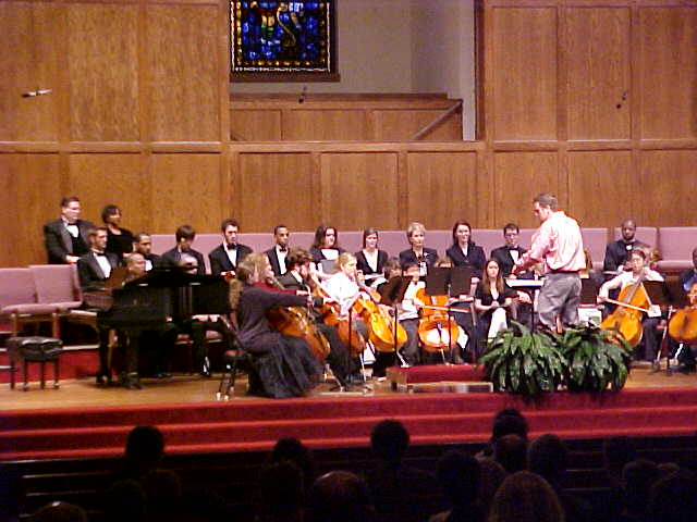 UCO Cello Ensemble under the direction of Tess Remy-Schumacher performed Shalom for Cello Ensemble (Composer Dr. Samuel Magrill)