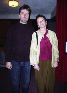 Liviu Marinescu, Anneliese Weibel in Wadsworth Auditorium