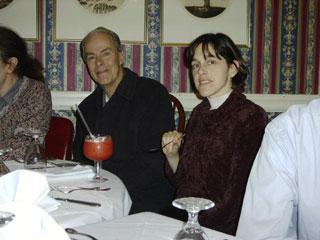 James Willey, Lisa Cella at the Big Tree Inn