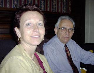 Anneliese Weibel, Paul Epstein at the Big Tree Inn
