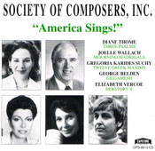 America Sings! CD cover