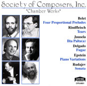 Chamber Works CD cover