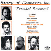 Extended Resources CD cover