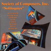 Soliloquies CD cover
