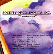 Soundscapes CD cover